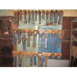 """LOT Large Qty. of Asst. Slugging Wrenches to 4-1/4"""""""