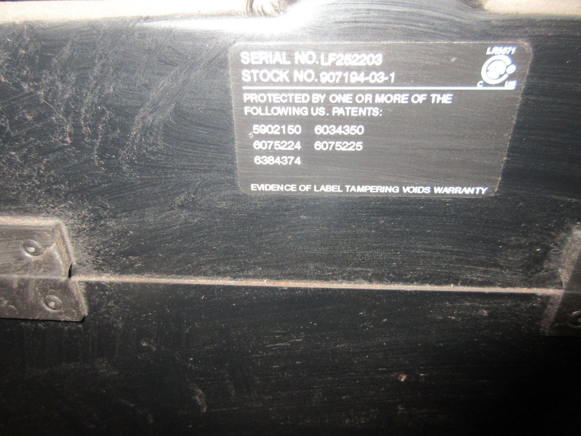 (1) Miller Syncrowave 250DX Welder, S/N LF252203, 115V, w/ Miller Coolmate 3 Cooler, Foot Control - Image 4 of 4