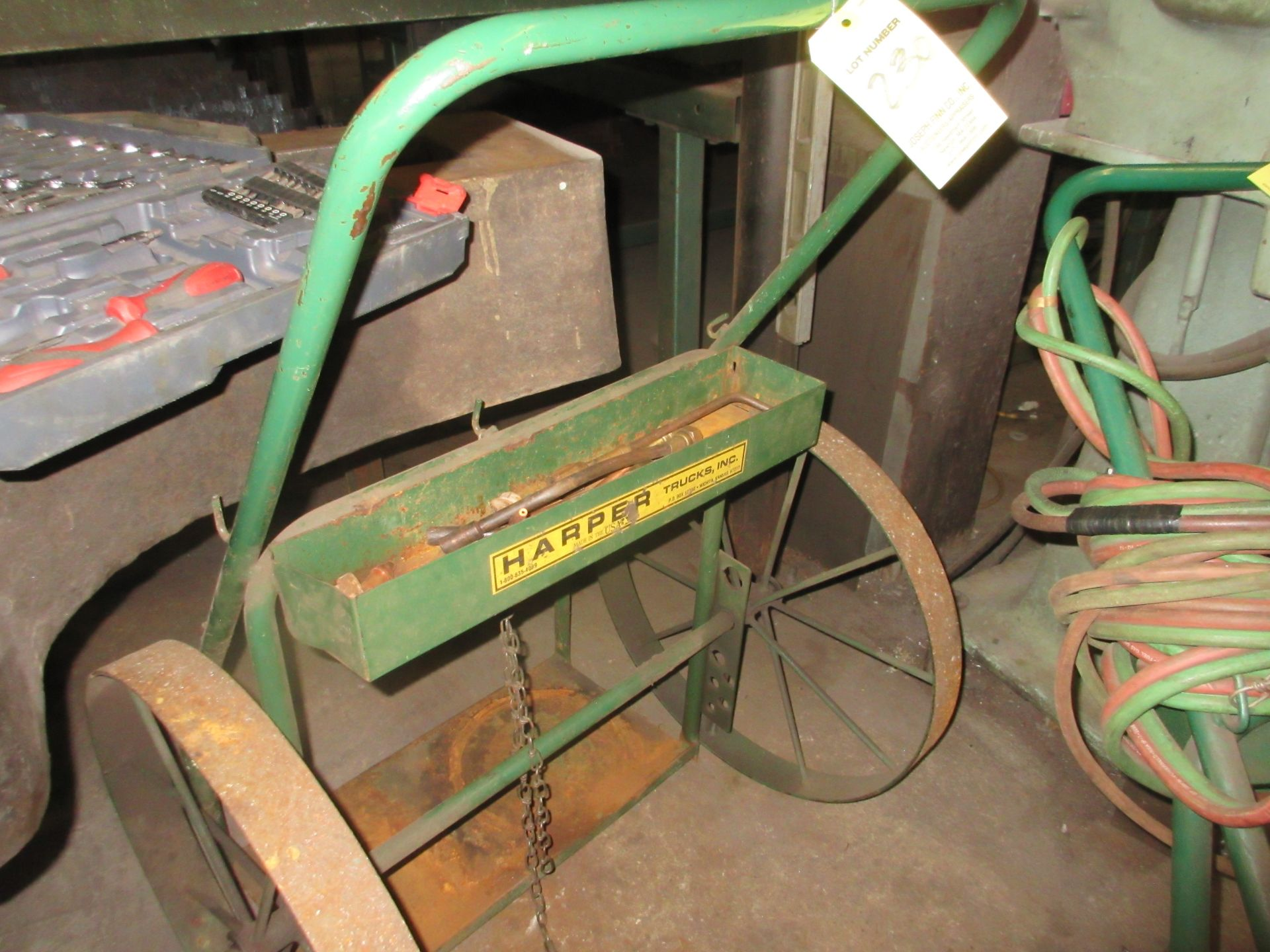 (1) Oxy-Acet. Cart (No Hose or Gages)