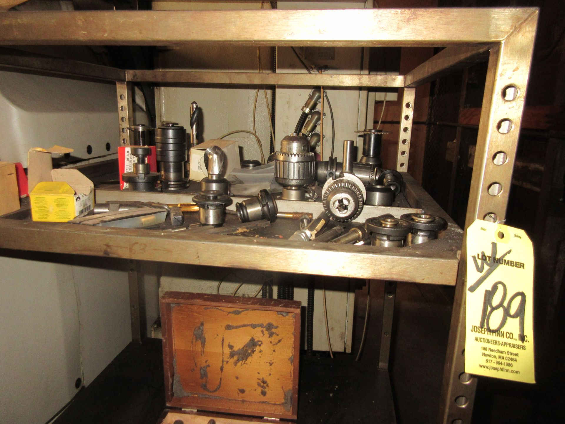 LOT (3) Drill Index Cabinets, Drills, Mills, Reamers, in Cabinets & on Shelf - Image 5 of 5