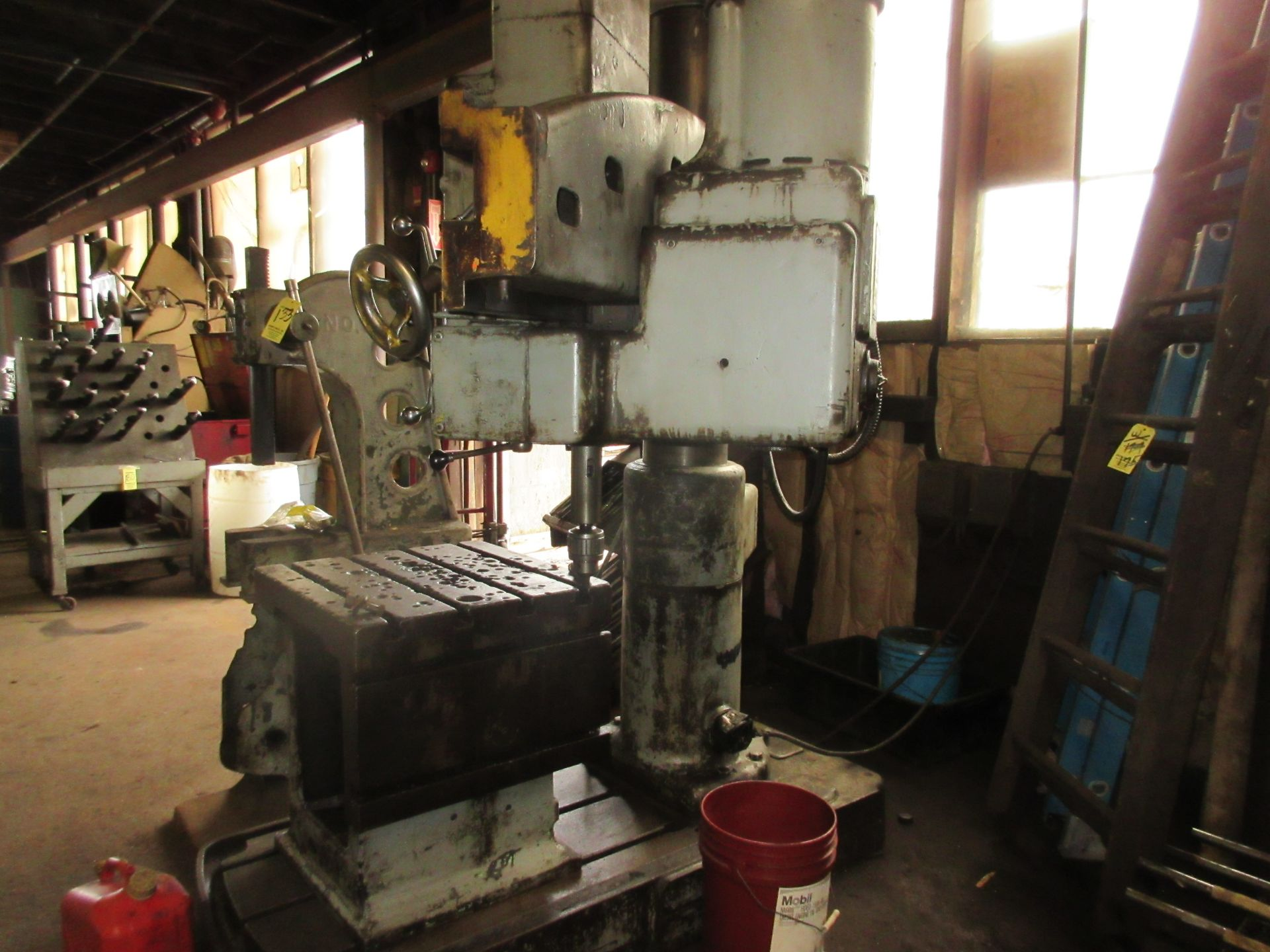 (1) American Hole Wizard Radial Arm Drill, Includes (2) Transformers - Image 5 of 6