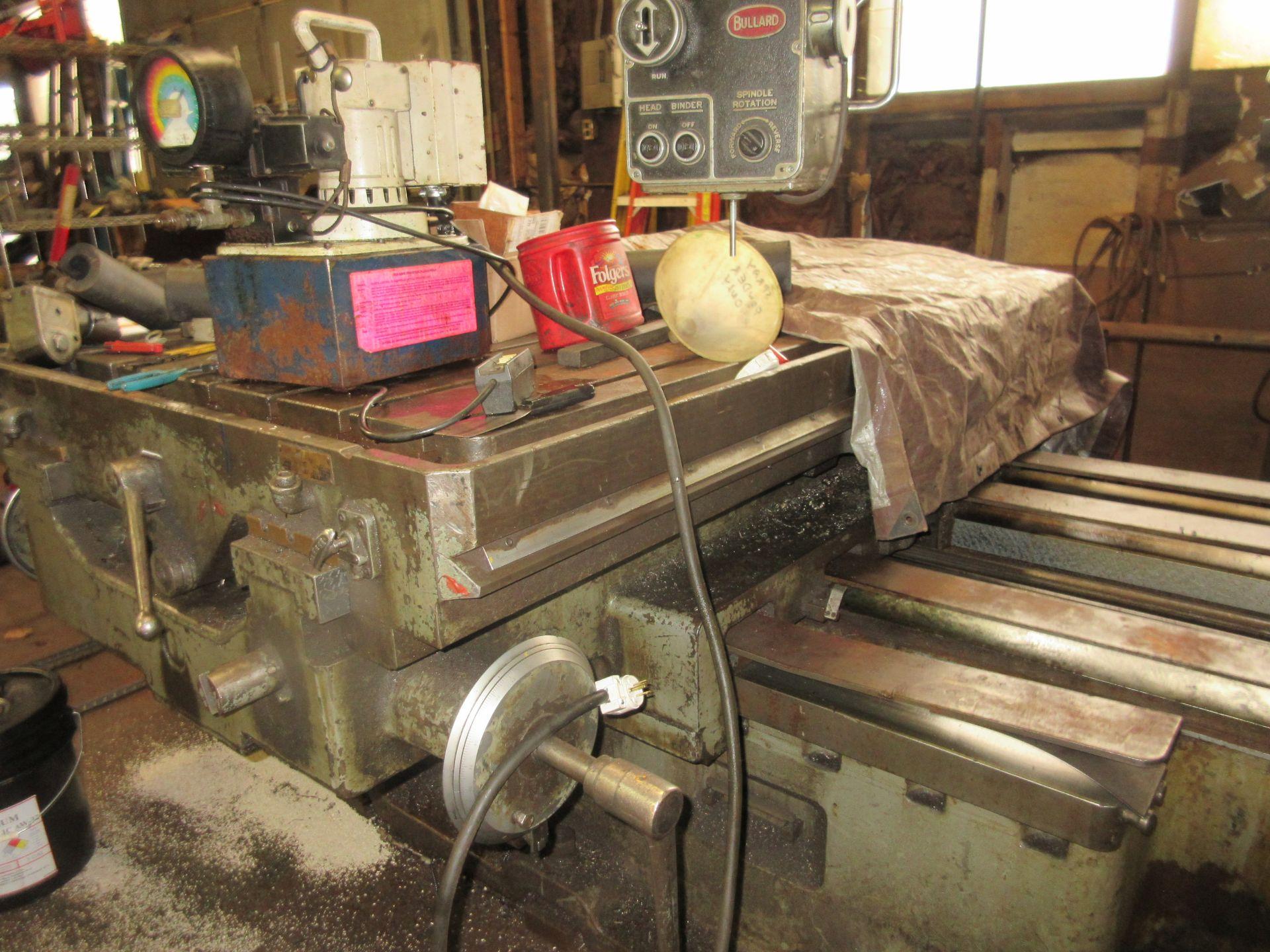 """(1) Bullard Model 75 4"""" Horizontal Boring, Milling & Drilling Machine S/N 30512 - Image 6 of 7"""