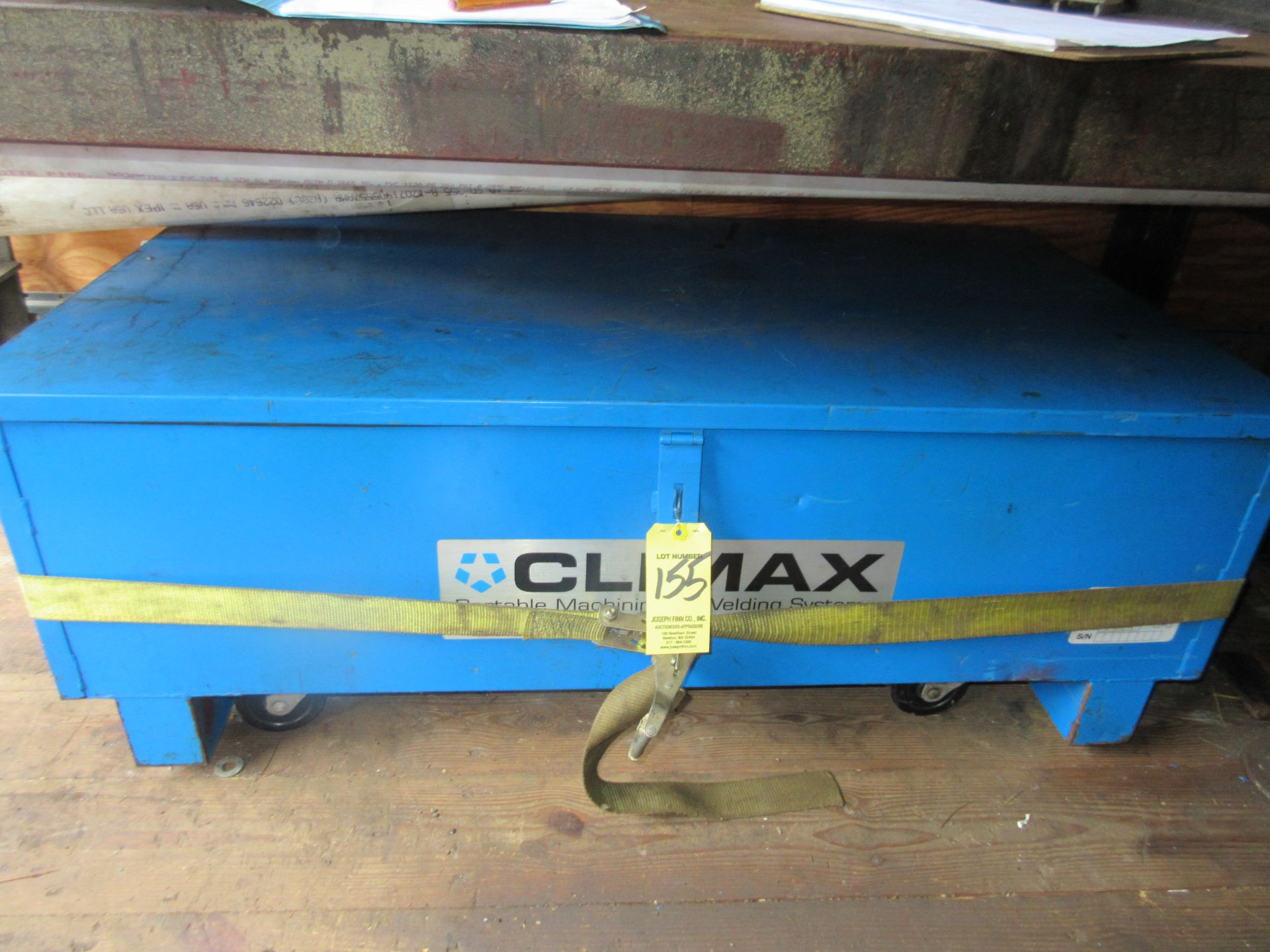 """(1) Climax BB-5000 Line Boring Unit, 2-1/4"""" Bar, 12"""" Feed, Tool Box Please Note: This lot is being"""