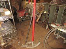 (1) Rigid Speed Grip Power Threader, Rigid Pipe Bender w. (1) Die