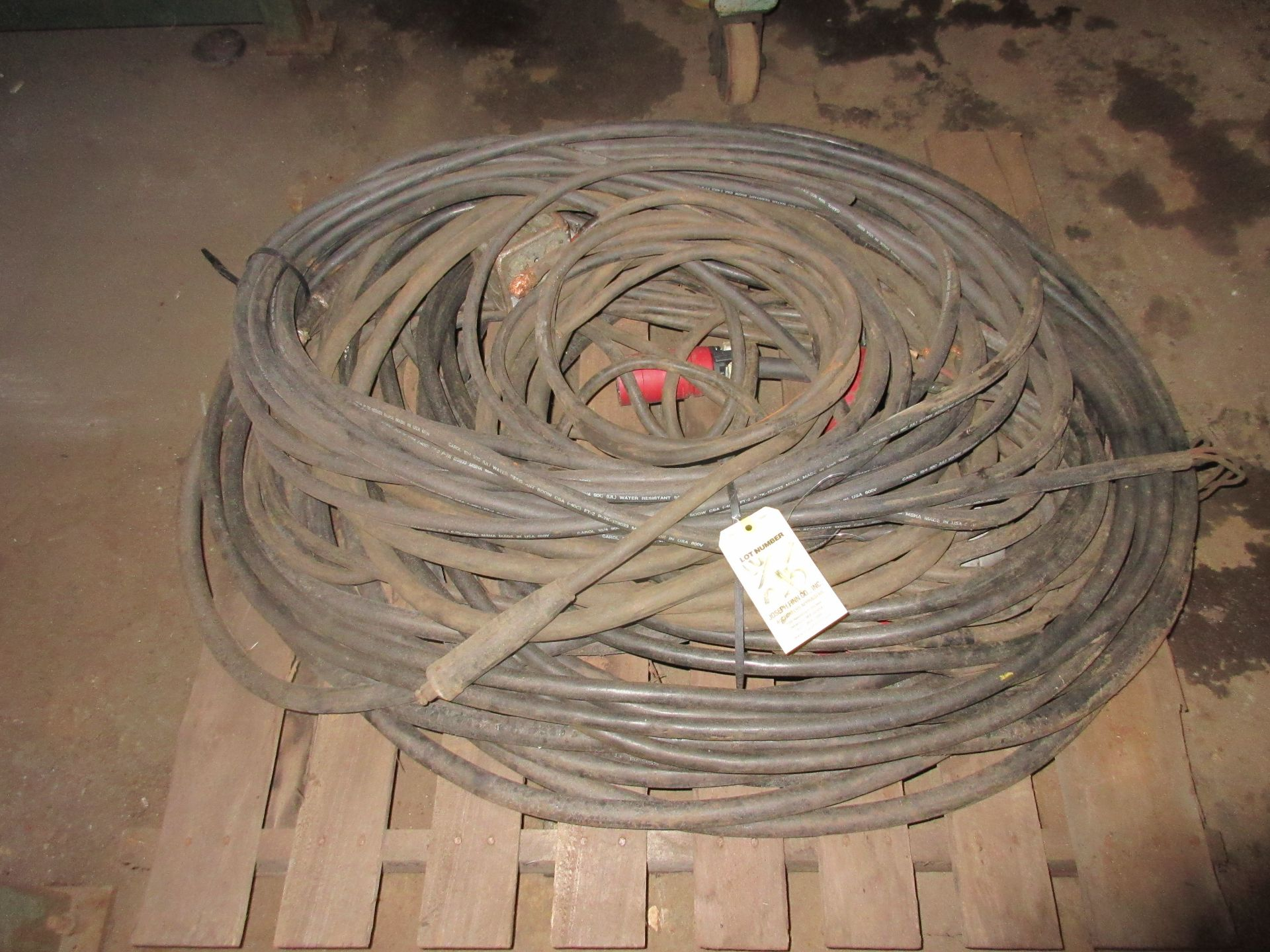 LOT Asst. Welding Cable & Torches on (2) Pallets - Image 2 of 2
