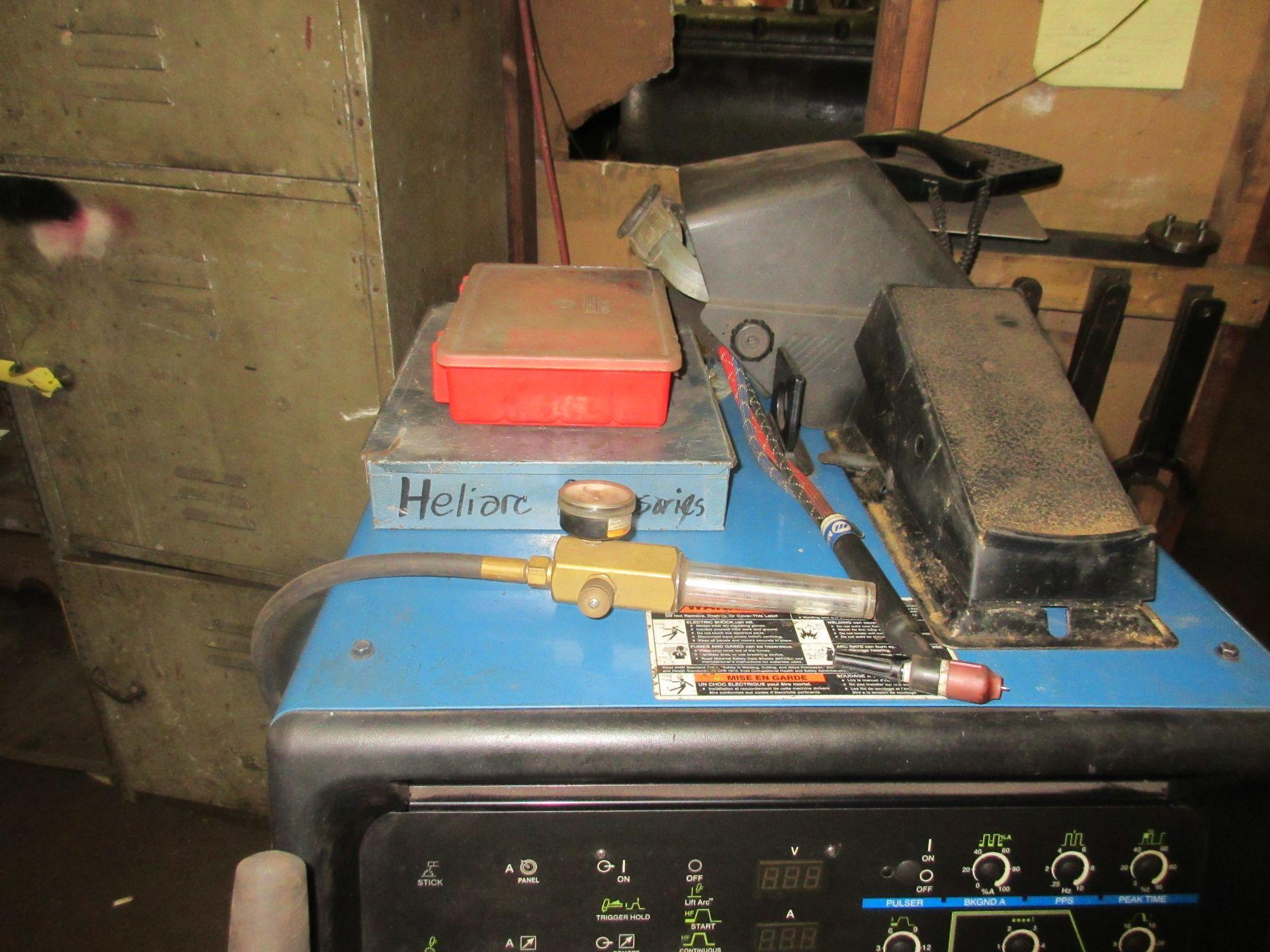 (1) Miller Syncrowave 250DX Welder s/n MG360564L, Port., Foot Control - Image 4 of 4