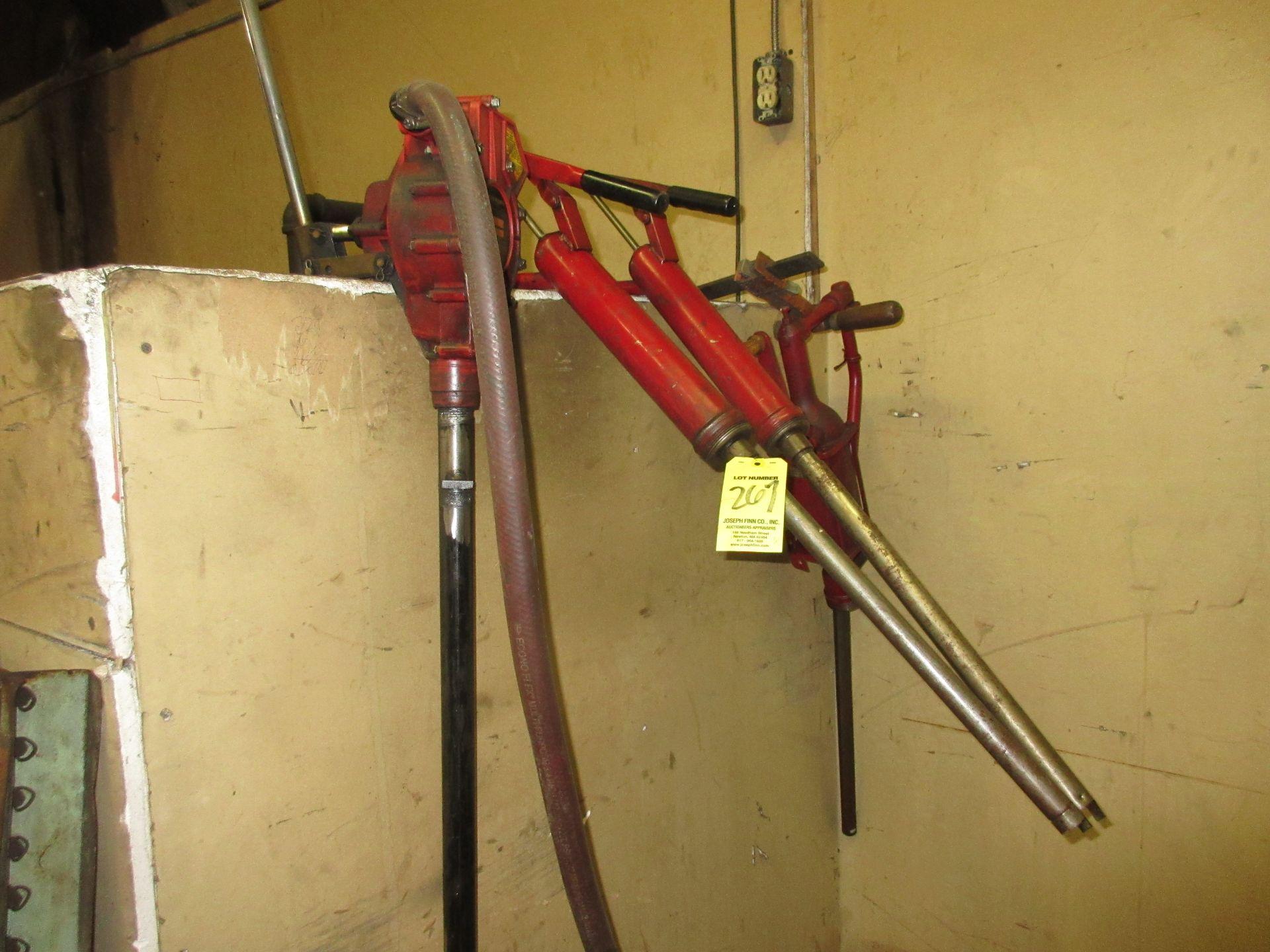 LOT (4) Asst. Oil Pumps