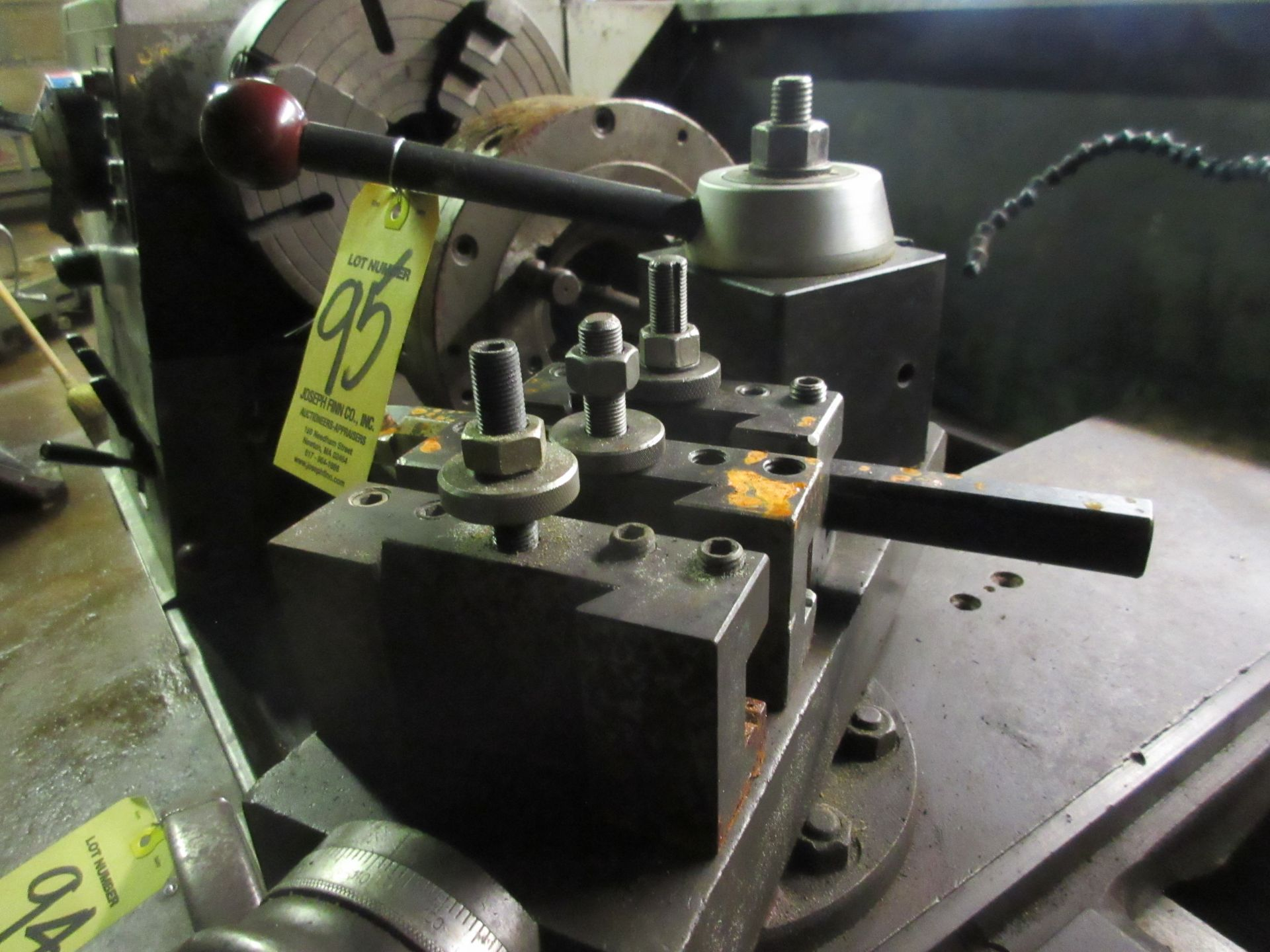 (1) Tool Post w/ (3) Holders - Image 2 of 2