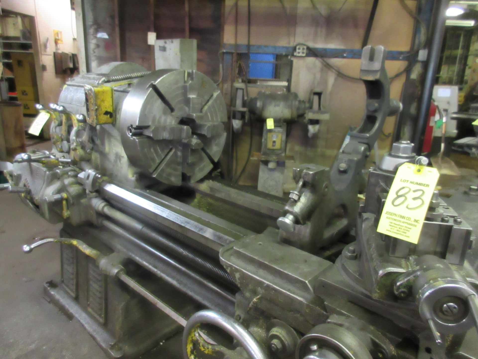 """(1) Monarch 18 CBB Toolroom Lathe S/N 18862, 168"""" Between Centers 4 Jaw Chuck, With Taper Attachment - Image 2 of 7"""