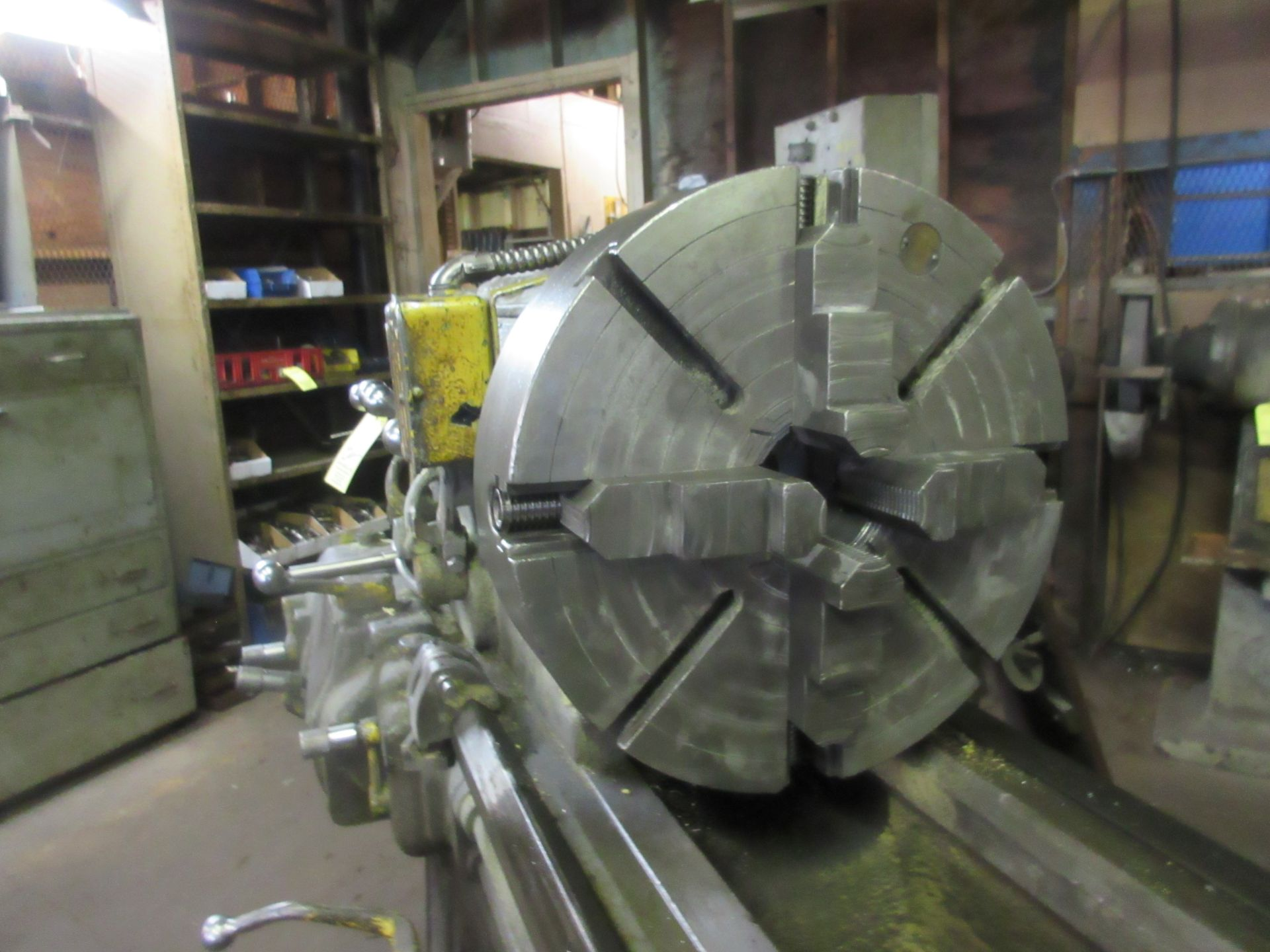 """(1) Monarch 18 CBB Toolroom Lathe S/N 18862, 168"""" Between Centers 4 Jaw Chuck, With Taper Attachment - Image 3 of 7"""