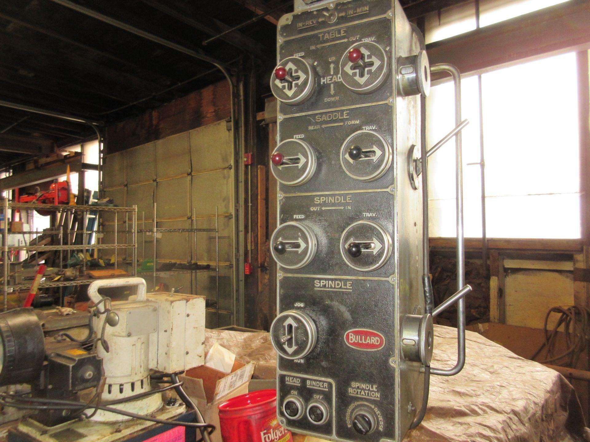 """(1) Bullard Model 75 4"""" Horizontal Boring, Milling & Drilling Machine S/N 30512 - Image 5 of 7"""