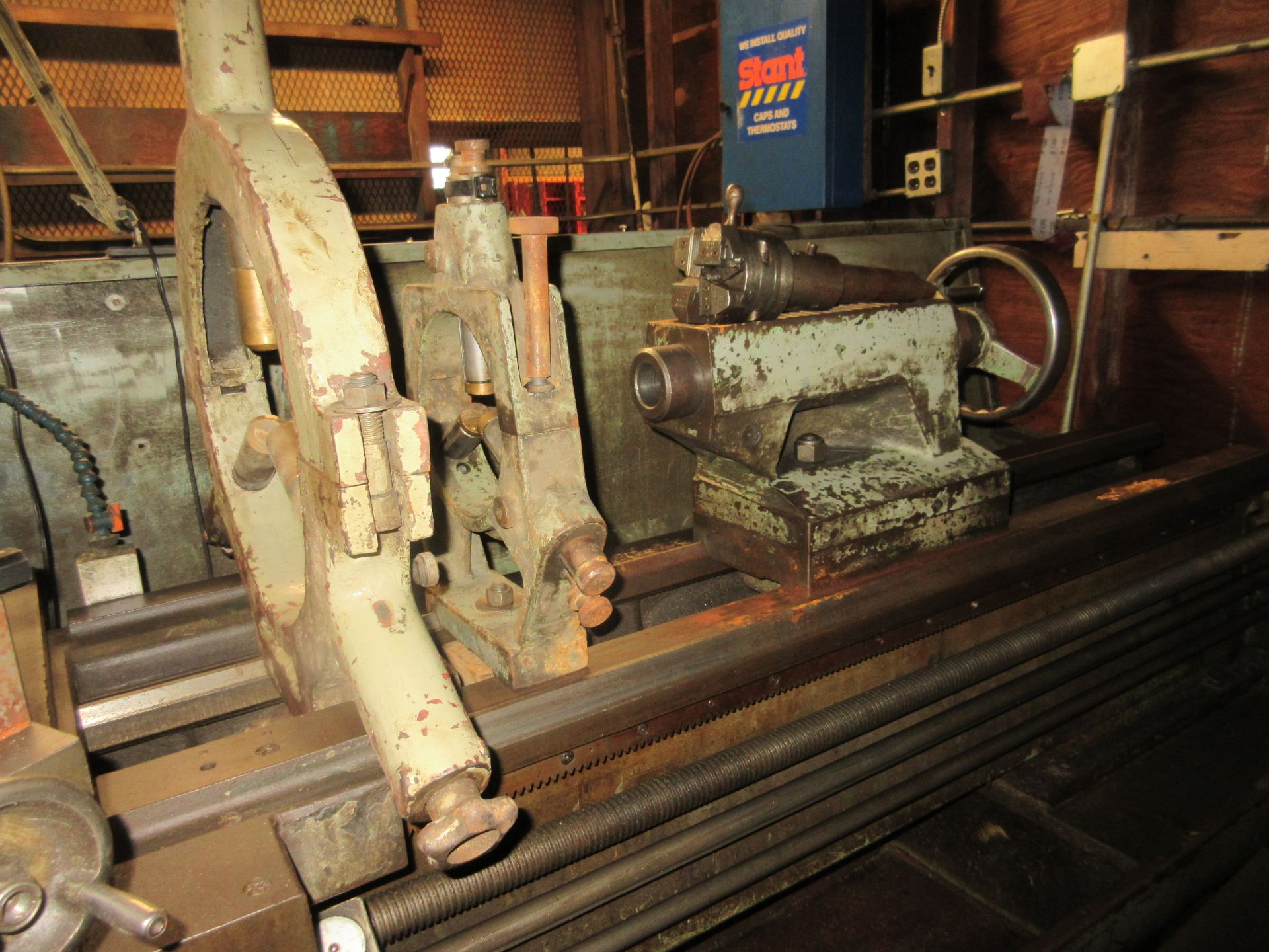 """Clausing Colchester 17"""" X 84"""" W/3"""" Spindle Hole Toolroom Lathe (1) 14"""" 3 & 16"""" 4 Jaw Chuck & 1 - Image 5 of 5"""