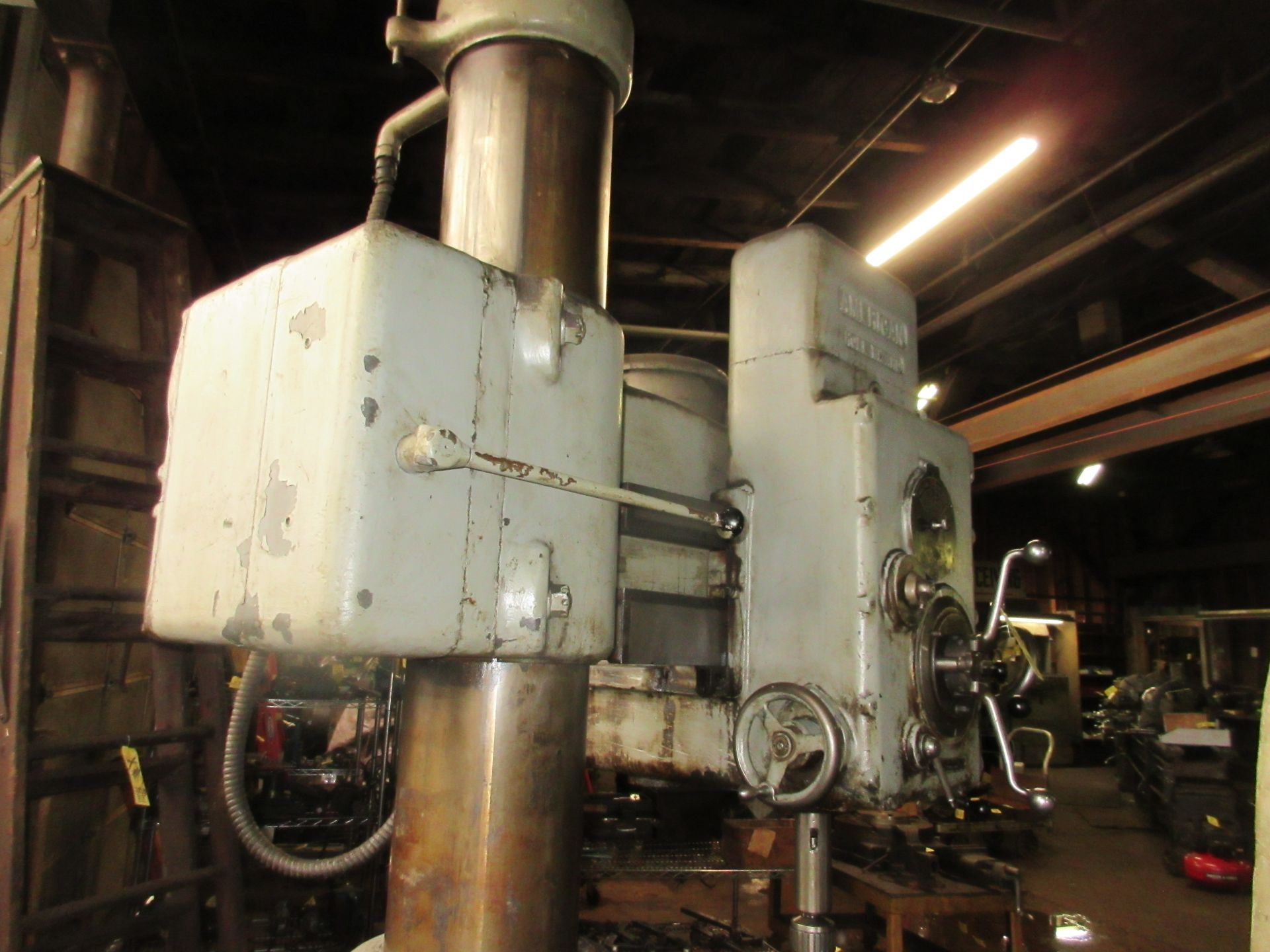 (1) American Hole Wizard Radial Arm Drill, Includes (2) Transformers - Image 6 of 6