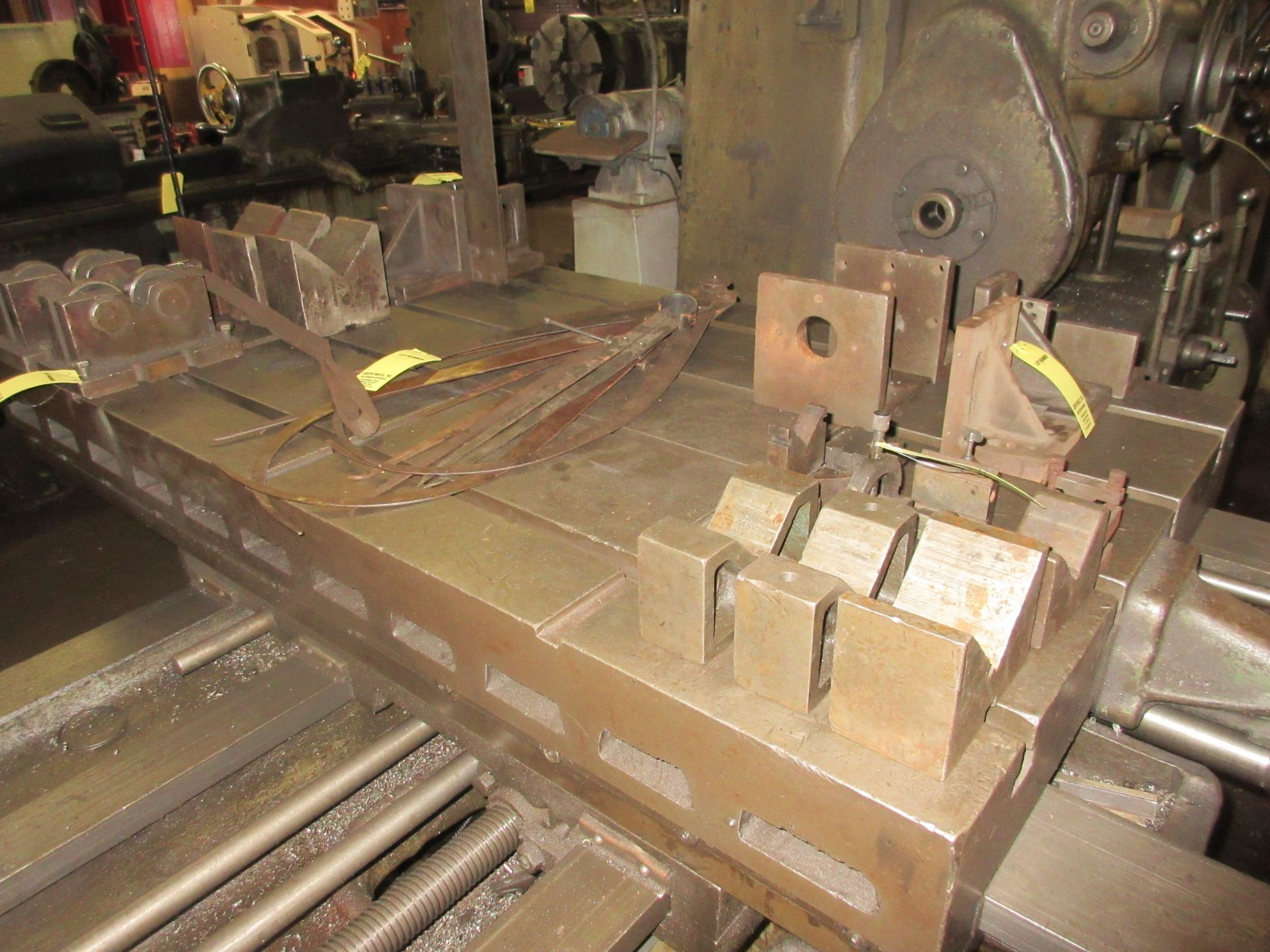 """(1) Universal Boring Machine Model 25 3"""" Spindle, 32"""" x 60"""" Table - Image 4 of 4"""