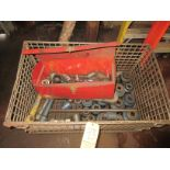 """(1) H.D. Socket Set In Crate - Large Impact Sockets 3/4"""", 1"""" & 1-1/2"""" Drive Up To 5"""""""