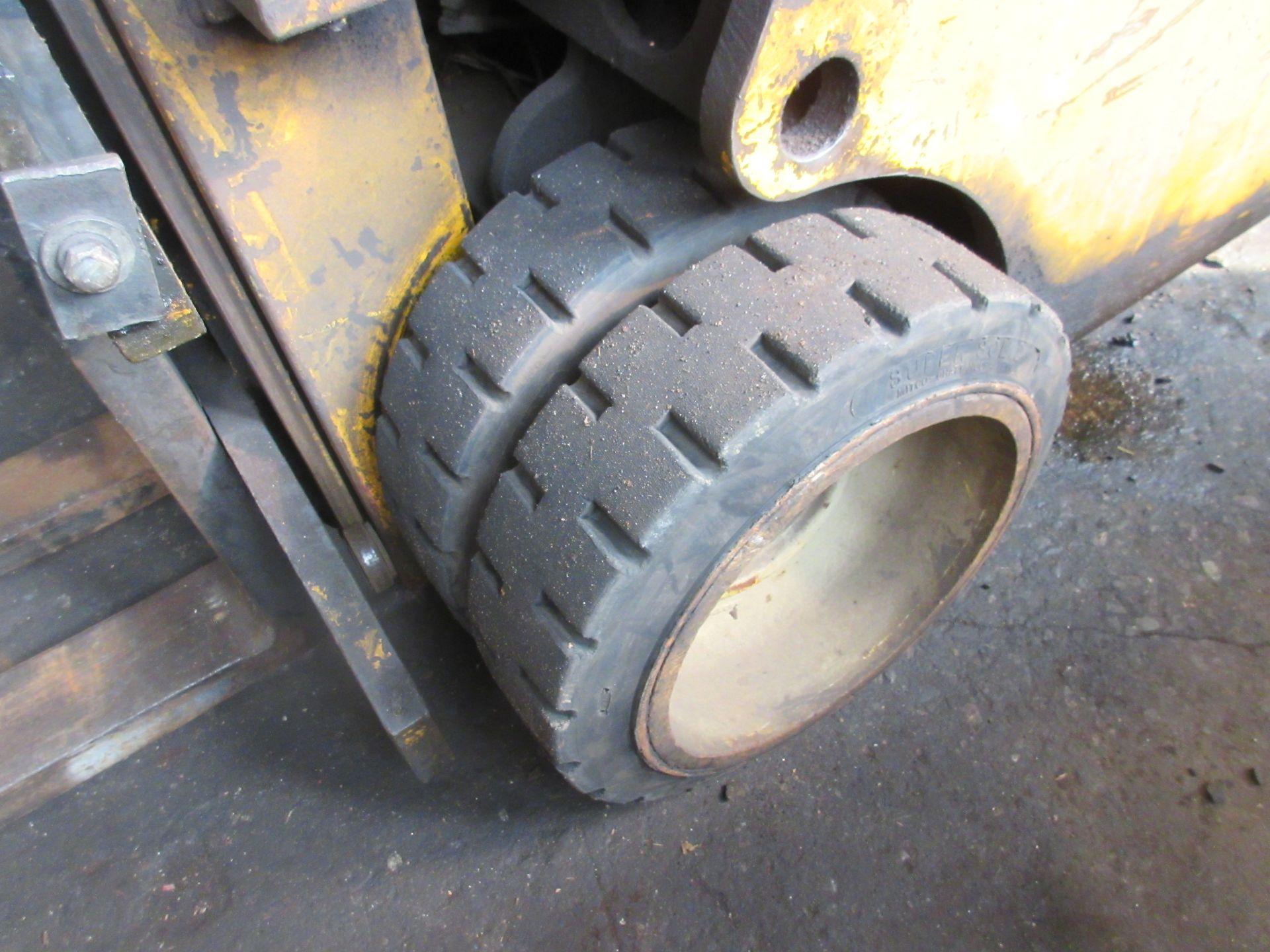 "(1) Caterpillar T120C LPG Forklift S/N 55L447, 12,000# Capacity, 156"" Lift, 3584 Hrs. - Image 3 of 6"