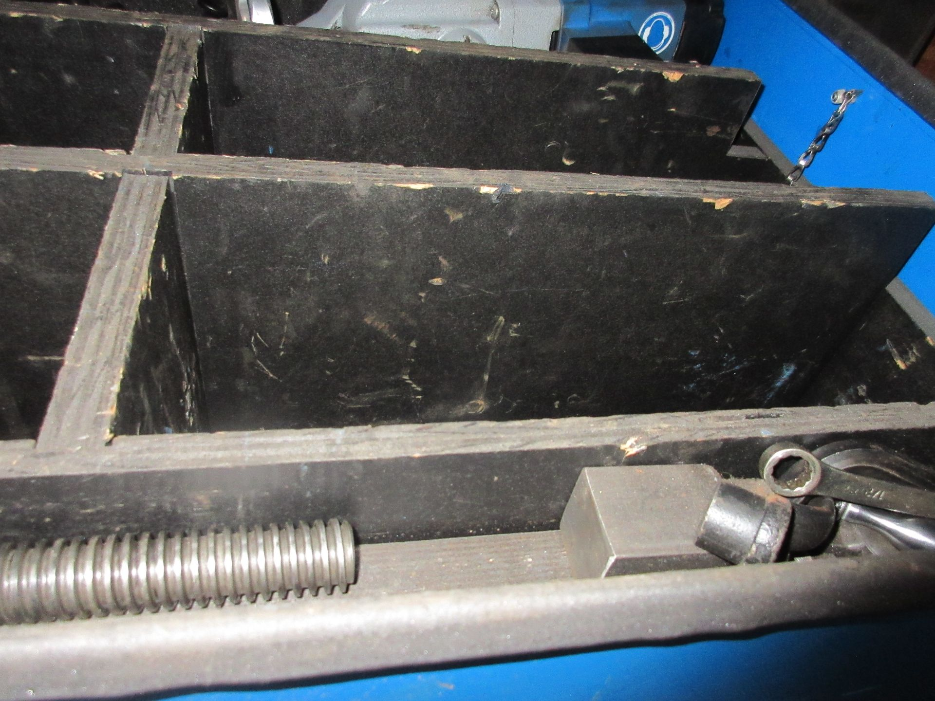 """(1) Climax BB-5000 Line Boring Unit, 2-1/4"""" Bar, 12"""" Feed, Tool Box Please Note: This lot is being - Image 3 of 5"""