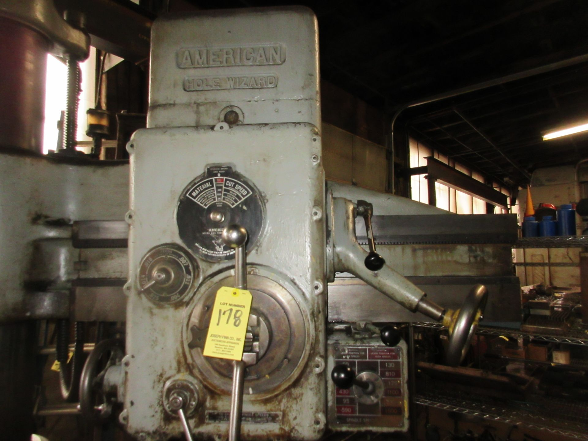 (1) American Hole Wizard Radial Arm Drill, Includes (2) Transformers - Image 2 of 6