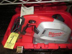 """(1) Milwaukee 8"""" Metal Cutting Circ. Saw, Cat #6370, In Case"""