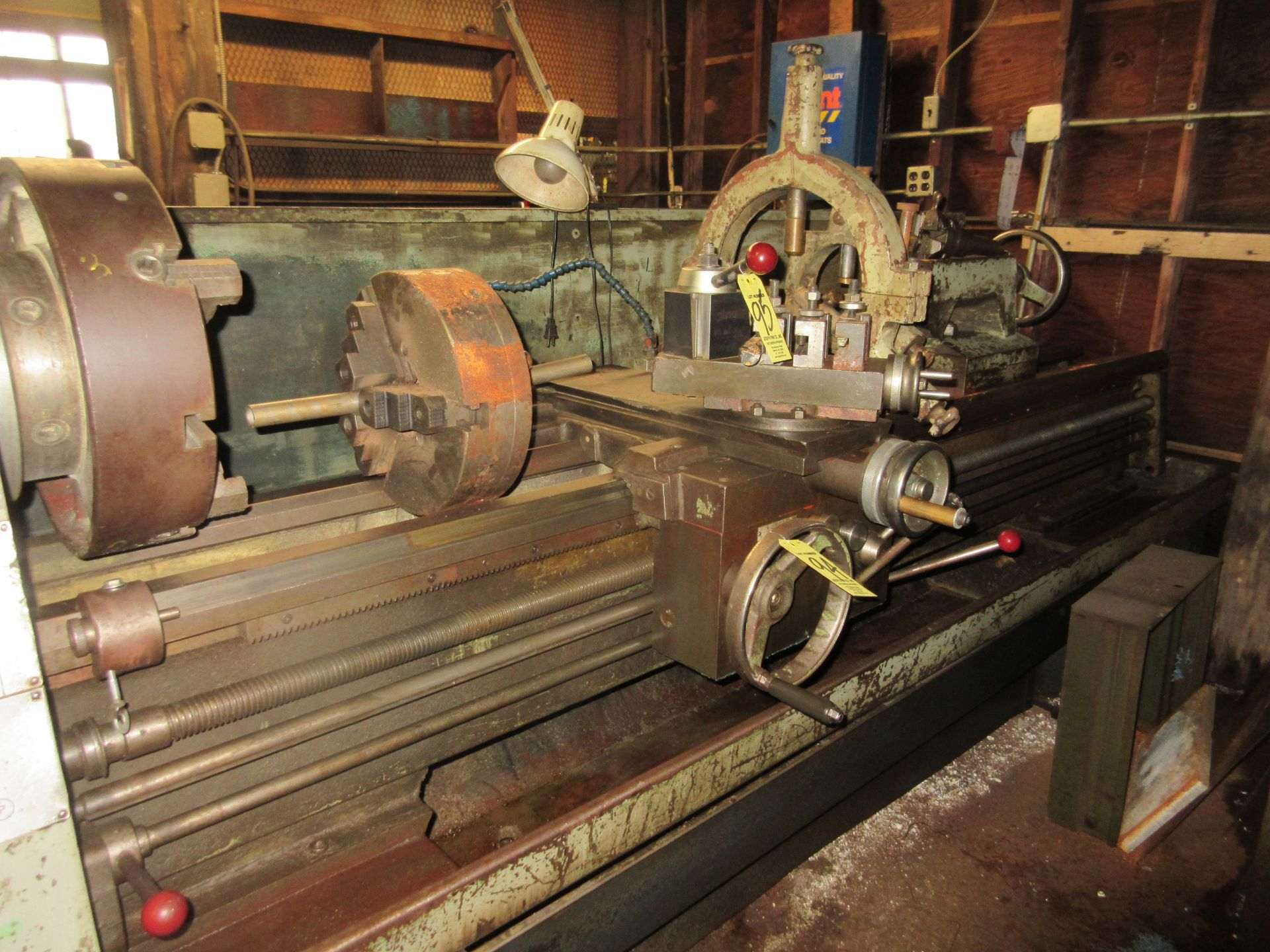 """Clausing Colchester 17"""" X 84"""" W/3"""" Spindle Hole Toolroom Lathe (1) 14"""" 3 & 16"""" 4 Jaw Chuck & 1 - Image 3 of 5"""