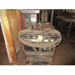 (1) Lincoln Idealarc DC-60 Arc Welder, 230V, Lincoln LN-7 Wire Feed