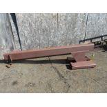 (1) Forklift Jib
