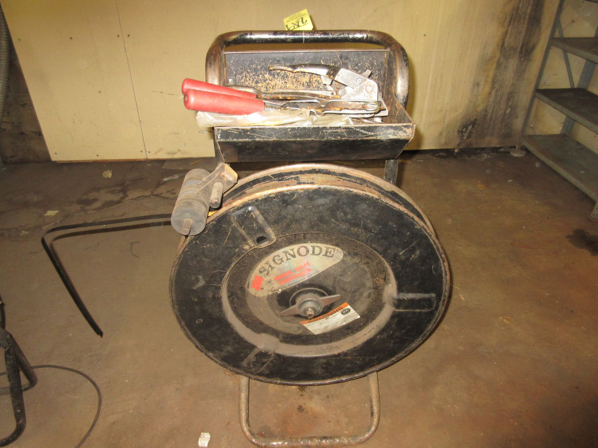 (1) Signode Banding Cart w/ Tools