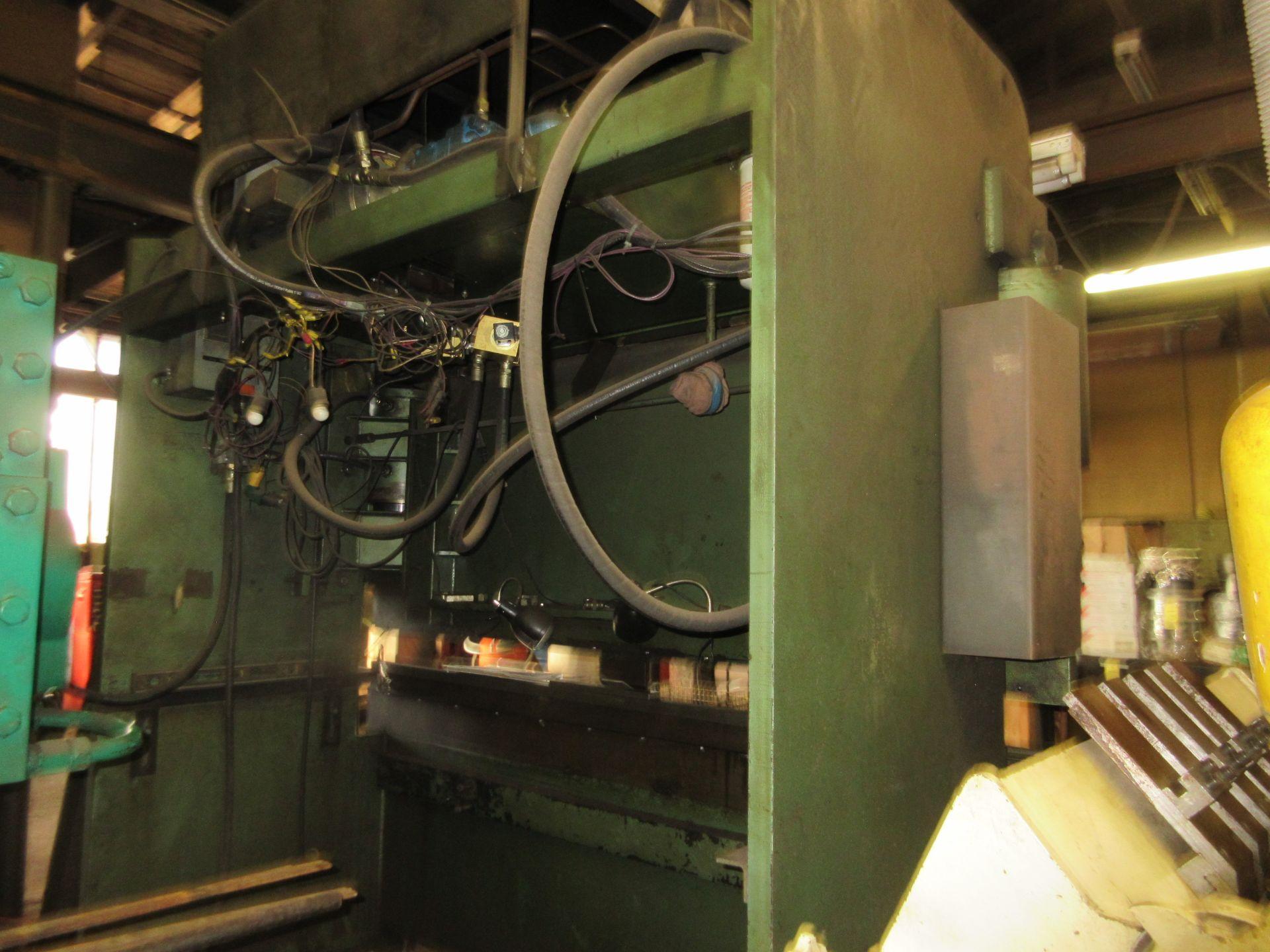 "MTI Hydraulic Press Brake 130 Ton x 8', Extra Dies to 4"" - Image 4 of 4"