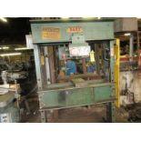 (1) Dake 5-075 H-Frame Press s/n 158113, 75 Ton