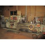 """(1) Axelson 25"""" X 96"""" Lathe S/N 24"""" 4 Jaw Chuck, Steady Rest & Taper Attachment, Tool Post"""