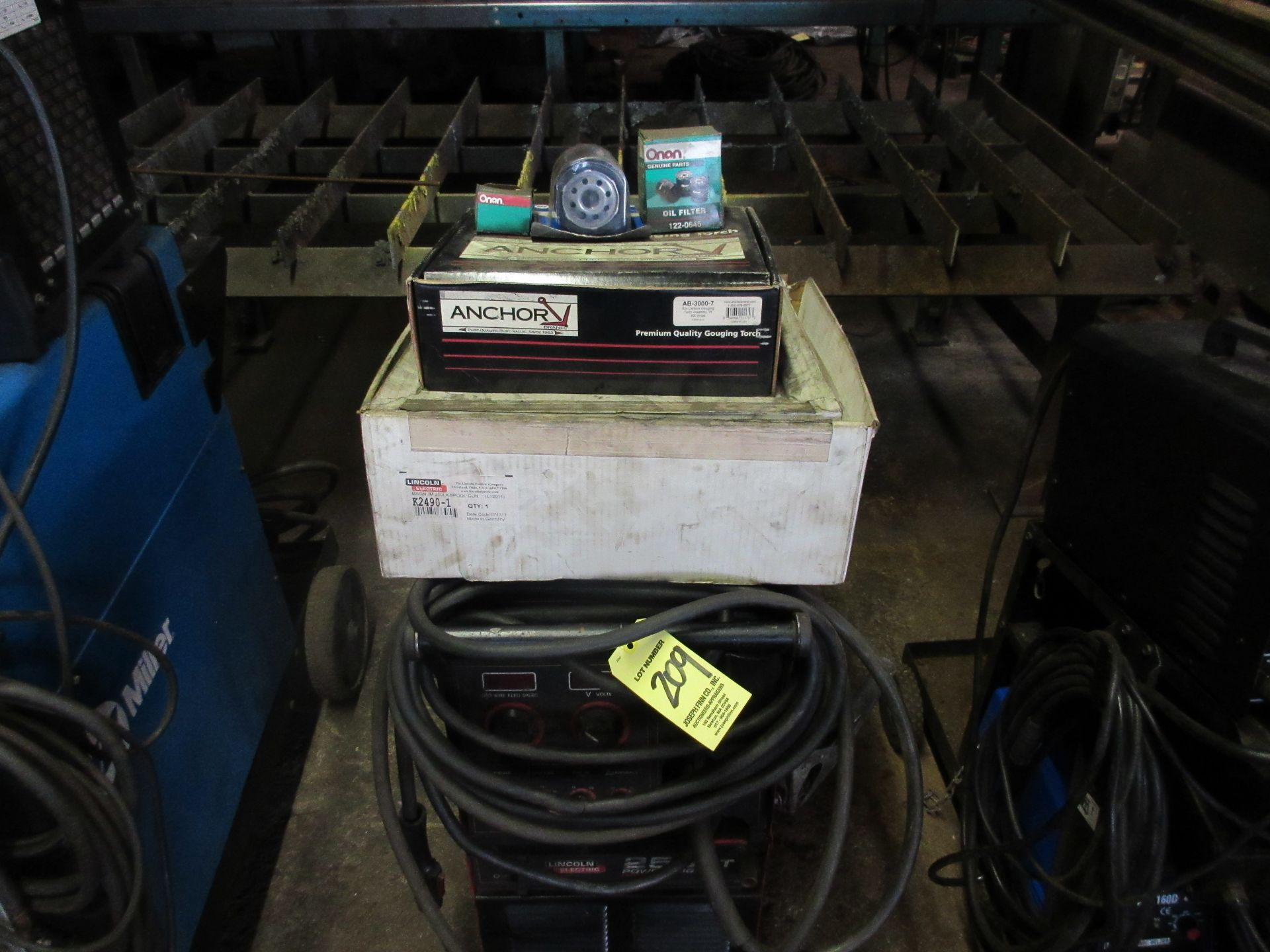 (1) Lincoln 255XT Power Mig Welder - Image 3 of 3