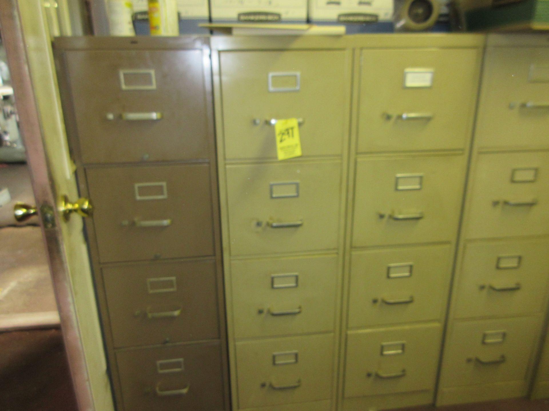 LOT (6) Asst. Fire Cabinets