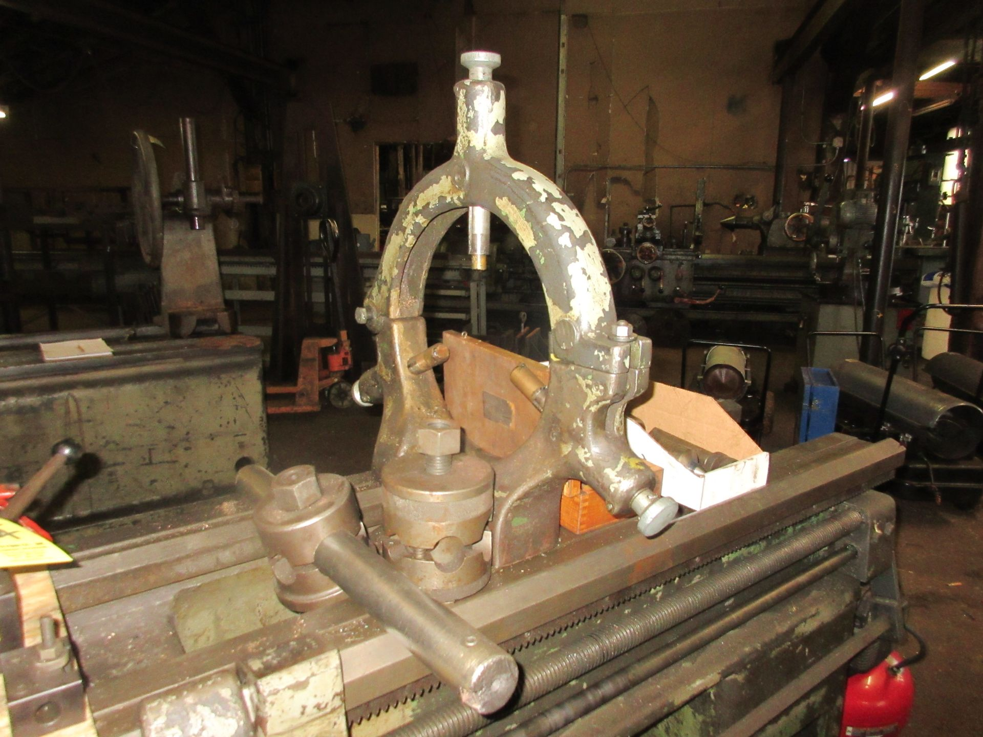"""(1) Monarch 18 CBB Toolroom Lathe S/N 18862, 168"""" Between Centers 4 Jaw Chuck, With Taper Attachment - Image 6 of 7"""