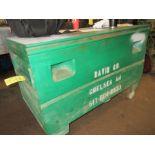 (1) 2'x4' Green Port. Job Box