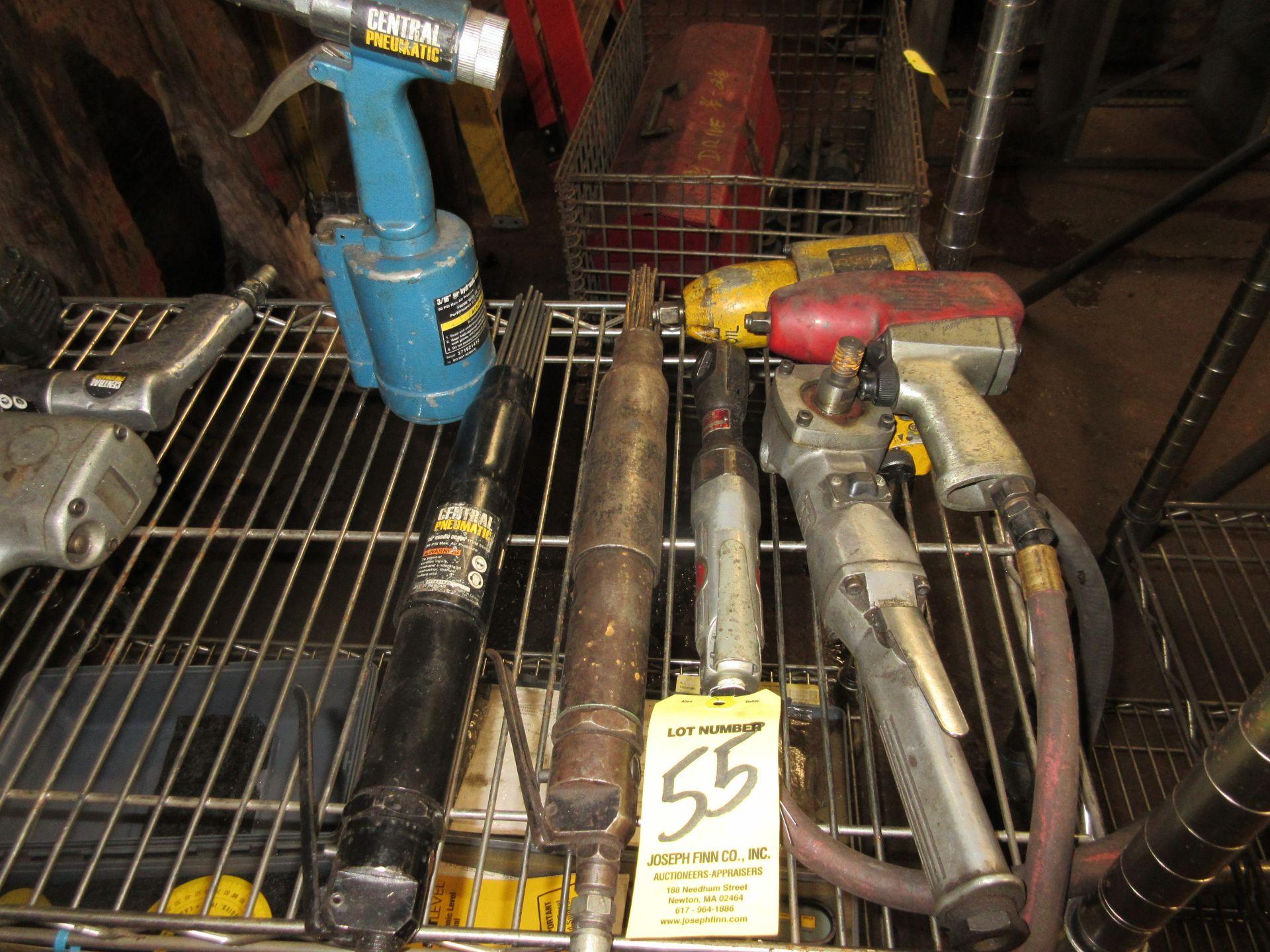 LOT (7) Asst. Pneumatic Tools