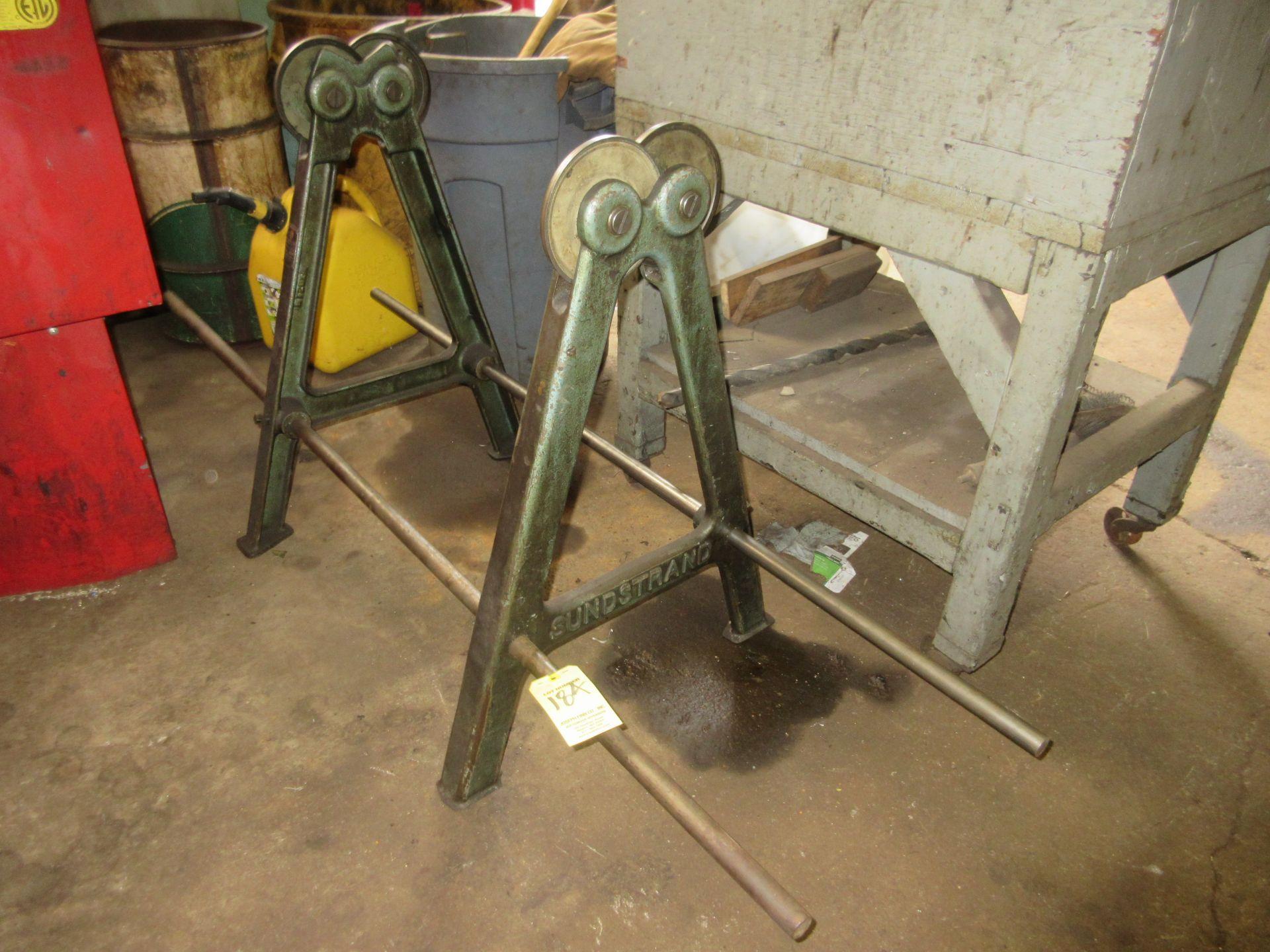 (1) Sundstrand (Wheel Balancer) Static Balancing Unit