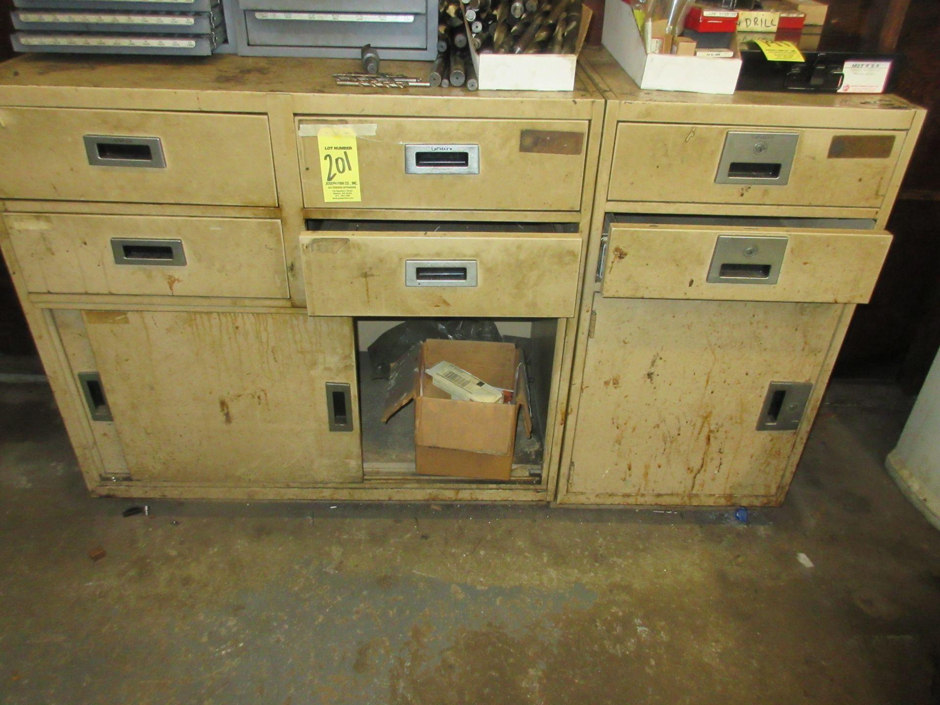 (1) Metal Cabinet