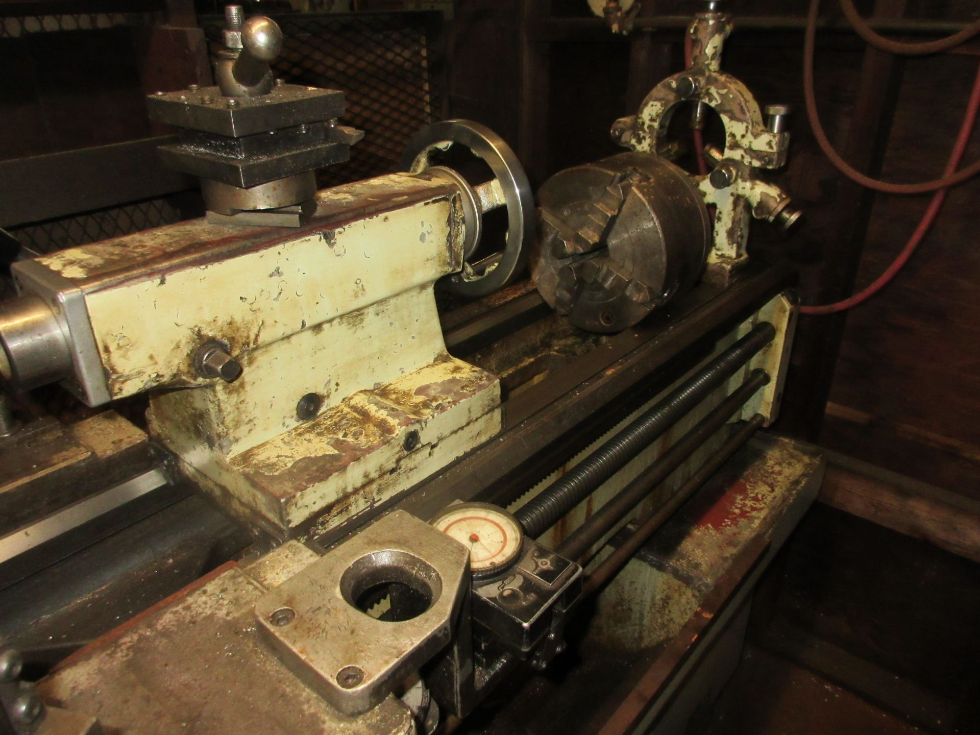 """(1) Cadillac 1040 Toolroom Lathe (1) 8"""" 3 Jaw & (1) 8"""" 4 Jaw Universal Independent Chucks & Steady - Image 5 of 5"""