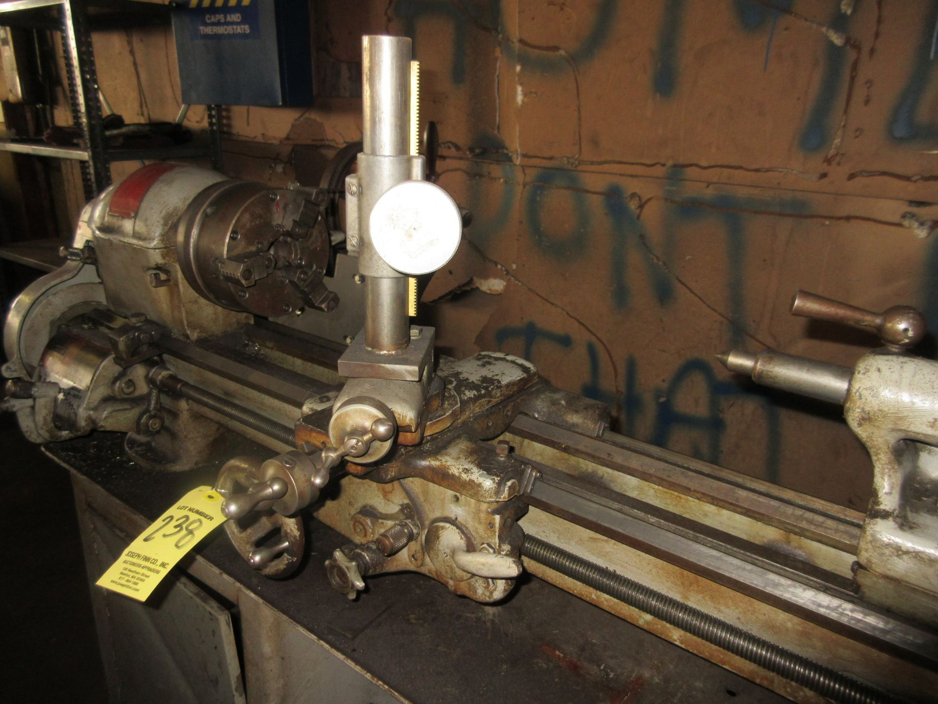 """(1) South Bend Model A Lathe, 6"""" 3 Jaw Chuck, Tailstock, S/N 30125 KAR - Image 2 of 3"""
