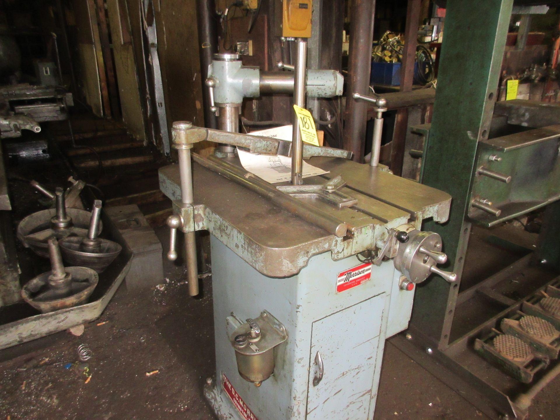 "(1) D.C. Morrison K86 Keyseating Machine s/n 4435 1-1/4"" Capacity - Image 3 of 3"