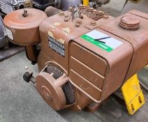 BRIGGS AND STRATTON 8 HP GAS POWERED PUMP