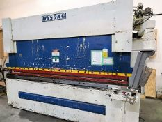PRESS BRAKE - WYSONG HYD. MOD. RT4 175 X 146, 175 TON X 12 FT. (DIES NOT INCLUDED)