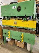 PRESS BRAKE - CHICAGO 6 FT. X 25 TON MECHANICAL, S/N L-15254, 208V/3PH