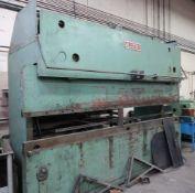 PRESS BRAKE - ALL STEEL HYD. MOD. 120 12, 120 TON X 12 FT. 220V/3PH, S/N Y.2205
