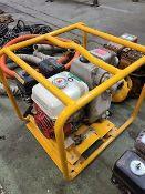 PT2 WACKER PUMP P/W HONDA GAS 5.5 HP. ENGINE