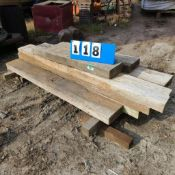 LOT OF WOOD TIMBERS