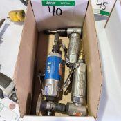 BOX OF MINI AIR GRINDERS
