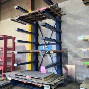 7 TIER CANTILEVER STEEL STORAGE RACK - MAX - 3000LB PER TIER (DOES NOT INCLUDE INVENTORY)
