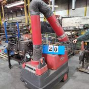 LINCOLN MOBIFLEX 200-M-CPL WELDING EXTRACTION UNIT
