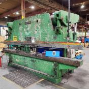 PRESS BRAKE– ACCURPRESS 250T X 16' (2' HORNS) MOD. 725012, 240V/3PH, NEW TOP FRONT BEARINGS ON